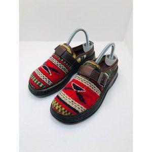 Born Wool Aztec Kilim Clogs 7